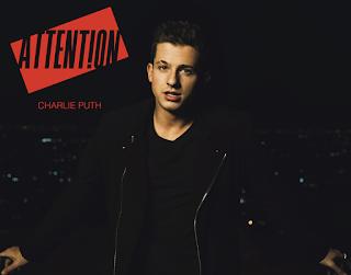 """la copertina di Charlie Puth, """"Attention"""""""