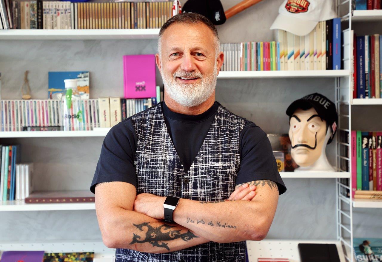 Roberto Razzini autore di Dal vinile a Spotify