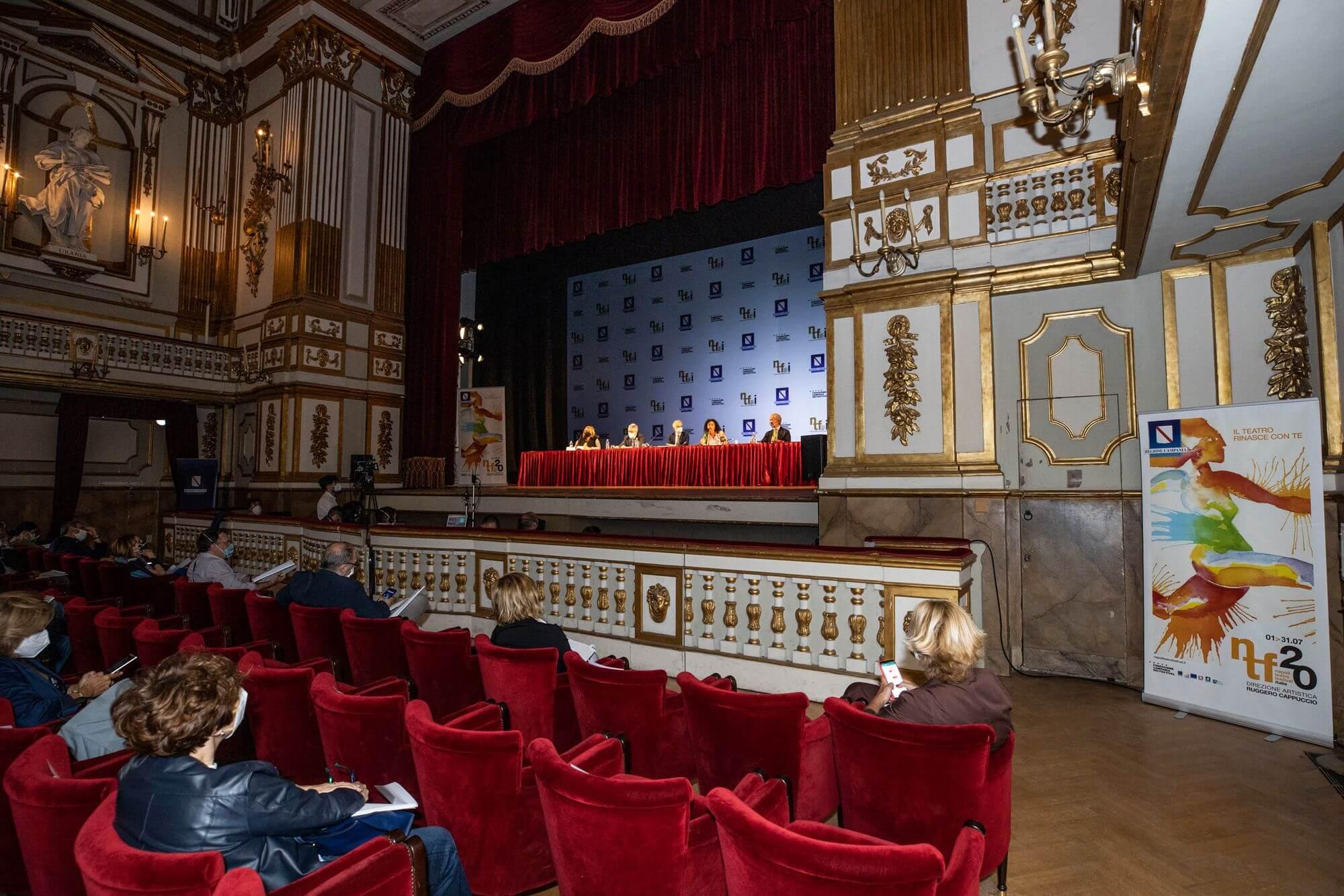 la conferenza del Napoli Teatro Festival