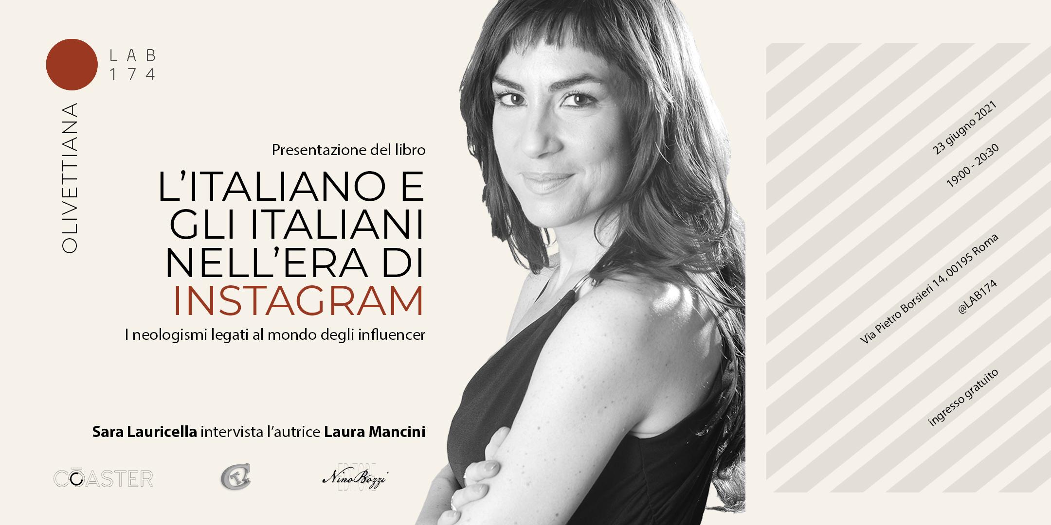 Locandina Presentazione saggio Laura Mancini